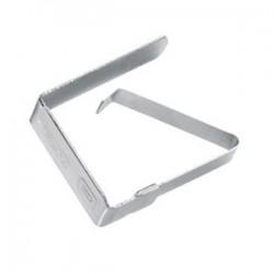 Pinces à nappe acier 4 pièces