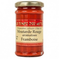 MOUTARDE ROUGE AROMATISEE A...