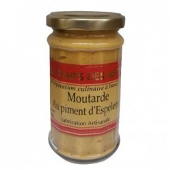 MOUTARDE PIMENT D'ESPELETTE...